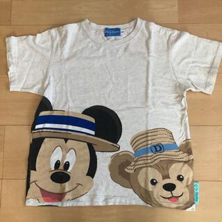 ダッフィー(ダッフィー)のレア東京ディズニーリゾート購入 ダッフィー&ミッキー半袖Tシャツ TDR TDS(Tシャツ/カットソー)