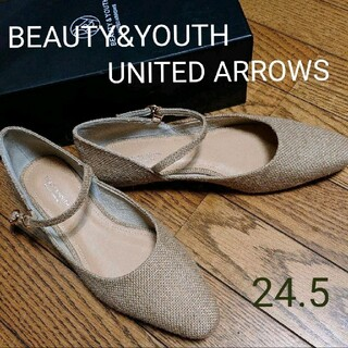 ビューティアンドユースユナイテッドアローズ(BEAUTY&YOUTH UNITED ARROWS)のBEAUTY&YOUTH UNITED ARROWS メッシュストラップパンプス(ハイヒール/パンプス)