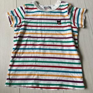 ダブルビー(DOUBLE.B)の美品 ミキハウス ダブルビー Tシャツ 80cm(Tシャツ)