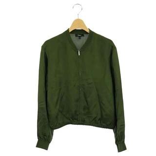 theory - セオリー 21SS ブルゾン ジャケット ジップアップ 薄手 S P 緑