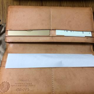 ガンゾ(GANZO)のガンゾ(GANZO)長財布 コードバン ファスナー小銭入れ付き(長財布)