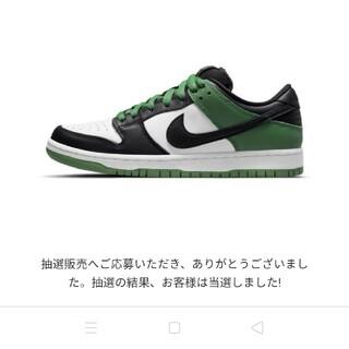 NIKE SB DUNK green  ナイキダンク クラシック グリーン(スニーカー)