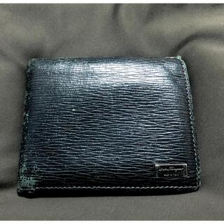 サルヴァトーレフェラガモ(Salvatore Ferragamo)のサルヴァトーレフェラガモ 二つ折り財布 ブラック(折り財布)