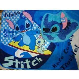 ディズニー(Disney)のStitchの毛布と敷マット(毛布)