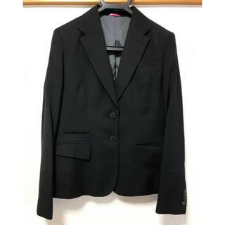 青山 - レディース スーツ ジャケット 黒 Sサイズ