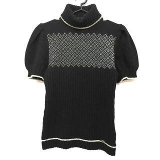 グッチ(Gucci)のグッチ サイズXS レディース - 黒×白(ニット/セーター)