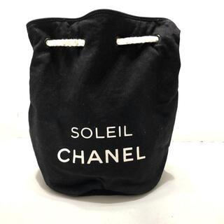 シャネル(CHANEL)のシャネル - 黒×アイボリー キャンバス(その他)