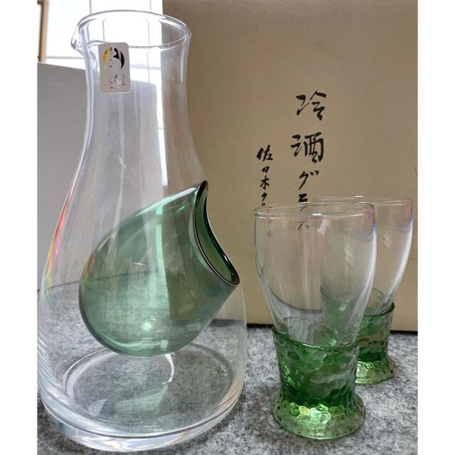 東洋佐々木ガラス(トウヨウササキガラス)の冷酒グラス 徳利 グラス2個セット インテリア/住まい/日用品のキッチン/食器(アルコールグッズ)の商品写真