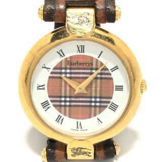 バーバリー(BURBERRY)のバーバリーズ - レディース チェック柄(腕時計)