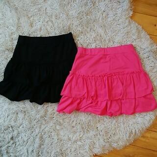 125-135【UNIQLO】スカート2枚set