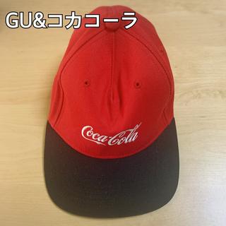 ジーユー(GU)のGUコカコーラ コラボ キャップ(キャップ)