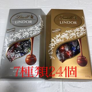 リンツ(Lindt)のコストコ リンツリンドールチョコレートアソート7種類24個(菓子/デザート)