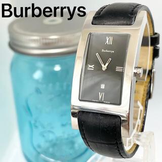 バーバリー(BURBERRY)の168  バーバリー時計 メンズ腕時計 レディース腕時計 スクエア ブラック(腕時計(アナログ))