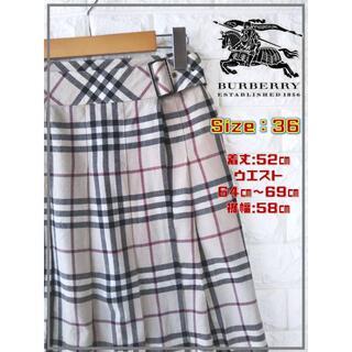 バーバリー(BURBERRY)のバーバリーロンドン ノバチェック スカート SS1980 (ミニスカート)