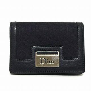 クリスチャンディオール(Christian Dior)のディオール/クリスチャンディオール 黒(名刺入れ/定期入れ)