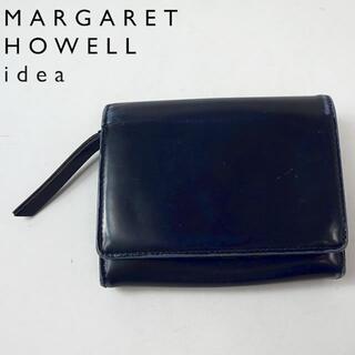マーガレットハウエル(MARGARET HOWELL)のMARGARET HOWELL idea 折財布 ネイビー 4805417(財布)