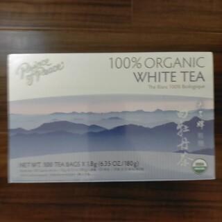 ホワイトティー 100%オーガニック 有機白茶、 10包(健康茶)