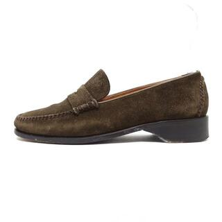 コールハーン(Cole Haan)のコールハーン 6 1/2 B レディース - カーキ(ローファー/革靴)