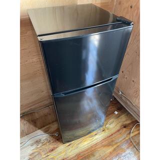 ハイアール(Haier)の94 Haier 2ドア冷蔵庫 JR-N130A 2018年製(冷蔵庫)