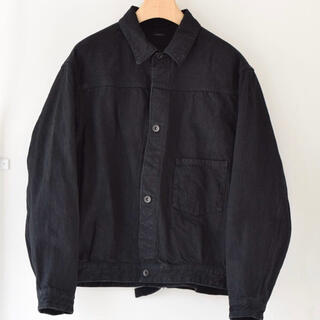 COMOLI - 20aw comoli ブラックデニムジャケット サイズ2