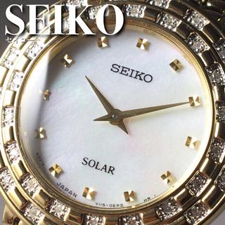 セイコー(SEIKO)の★定価7万円★セイコー/36石ダイヤモンド/女性用/レディース腕時計WW1351(腕時計)