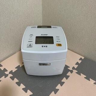 ミツビシデンキ(三菱電機)の三菱電機 本炊釜 MITSUBISHI NJ-VE106-W(炊飯器)