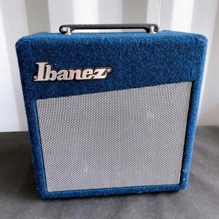 アイバニーズ(Ibanez)の美品! Ibanez アイバニーズ ギターアンプ アンプ ブルー 青 星野楽器(ギターアンプ)