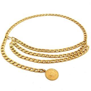 シャネル(CHANEL)のCHANEL(シャネル) ゴールド 金属素材(ベルト)