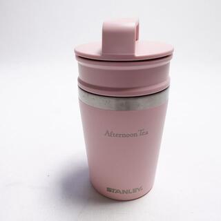 アフタヌーンティー(AfternoonTea)のAfternoon Tea STANLE 真空携帯マグカップ ピンク(日用品/生活雑貨)