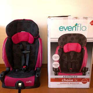 イーブンフロー(evenflo)の2点式シートベルト装着可能チャイルドシート evenflo chase LX 1(自動車用チャイルドシート本体)