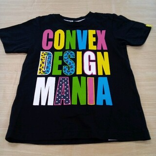 コンベックス(CONVEX)のコンベックス 120cm 半袖 プリント Tシャツ 02MN06011213(Tシャツ/カットソー)