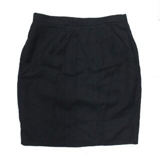 シャネル(CHANEL)のシャネル ヴィンテージ スカート レディース 黒(ブラック)サイズ40(ひざ丈スカート)