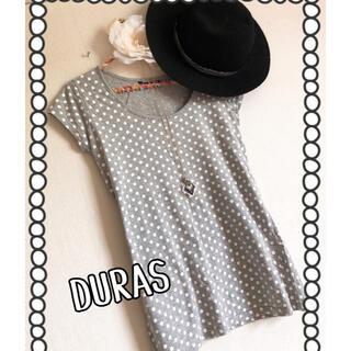 デュラス(DURAS)の★SUMMER セール!DURAS ドットTシャツ★(Tシャツ(半袖/袖なし))