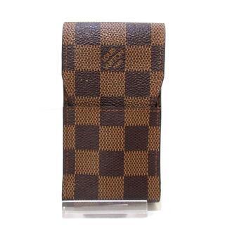 ルイヴィトン(LOUIS VUITTON)のルイヴィトン ダミエ美品  N63024 エベヌ(タバコグッズ)