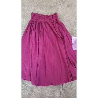 ジーナシス(JEANASIS)の膝下 プリーツスカート(ひざ丈スカート)