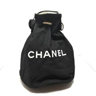 シャネル(CHANEL)のシャネル - 黒×白 巾着型/ノベルティ(その他)