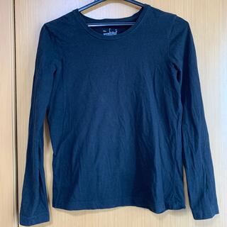 ムジルシリョウヒン(MUJI (無印良品))の無印 長袖シャツ 黒(Tシャツ(長袖/七分))