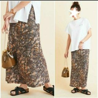 ビューティアンドユースユナイテッドアローズ(BEAUTY&YOUTH UNITED ARROWS)の2020ss 美品 beauty&y U. A  春夏  マキシ タイトスカート(ロングスカート)