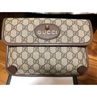 グッチ(Gucci)のGUCCI〔ネオ ヴィンテージ〕GGスプリーム ベルトバッグ(ウエストポーチ)