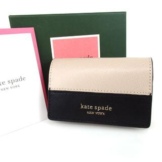 kate spade new york - ケイトスペード キーリング付き 6連 キーケース レザー 6-418