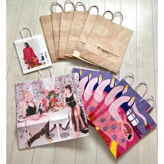 フランフラン(Francfranc)のフランフラン Francfranc ショッパー ショップ袋 紙袋 14枚 梱包(ショップ袋)