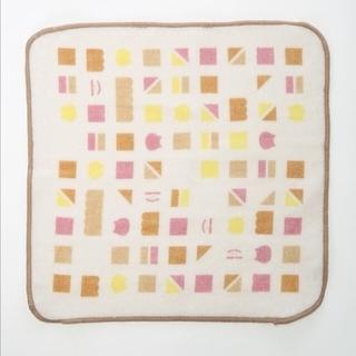 サマンサモスモス(SM2)のSM2 ねこねこ食パン 刺繍キャンバストートとタオルハンカチ(トートバッグ)