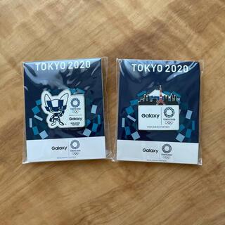 ギャラクシー(Galaxy)の東京2020オリンピック ピンバッチ(バッジ/ピンバッジ)