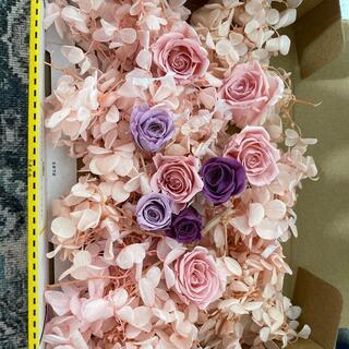 プリザーブドフラワー 薔薇と紫陽花(ドライフラワー)