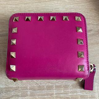 ヴァレンティノ(VALENTINO)のヴァレンティノ ピンク財布(財布)