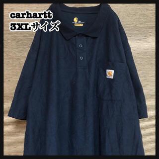 カーハート(carhartt)の【カーハート】半袖襟付きTシャツ 胸ポケット 紺色 ポロシャツ80(ポロシャツ)