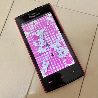 ディズニー(Disney)のDM012SH ディズニー・モバイル SoftBanK(スマートフォン本体)
