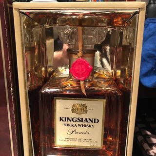 ニッカウイスキー(ニッカウヰスキー)のニッカキングスランド未開封カートン付き古酒(ウイスキー)