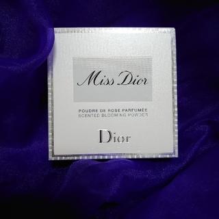 ディオール(Dior)のミス ディオール ブルーミング ボディ パウダー 16g限定品(ボディパウダー)