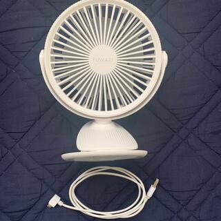 ヤマゼン(山善)の充電式デスクファン FUWARI(扇風機)
